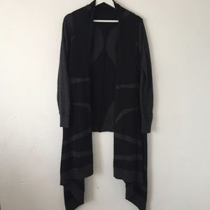 Cynthia Rowley M Cardigan High Low Duster Sweater